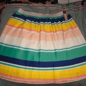NWT Pleated Skirt